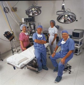 Cosmetic Facial Surgery Care Staff